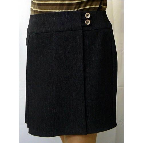 Описание: юбка с запахом трапеция - Джинсы.