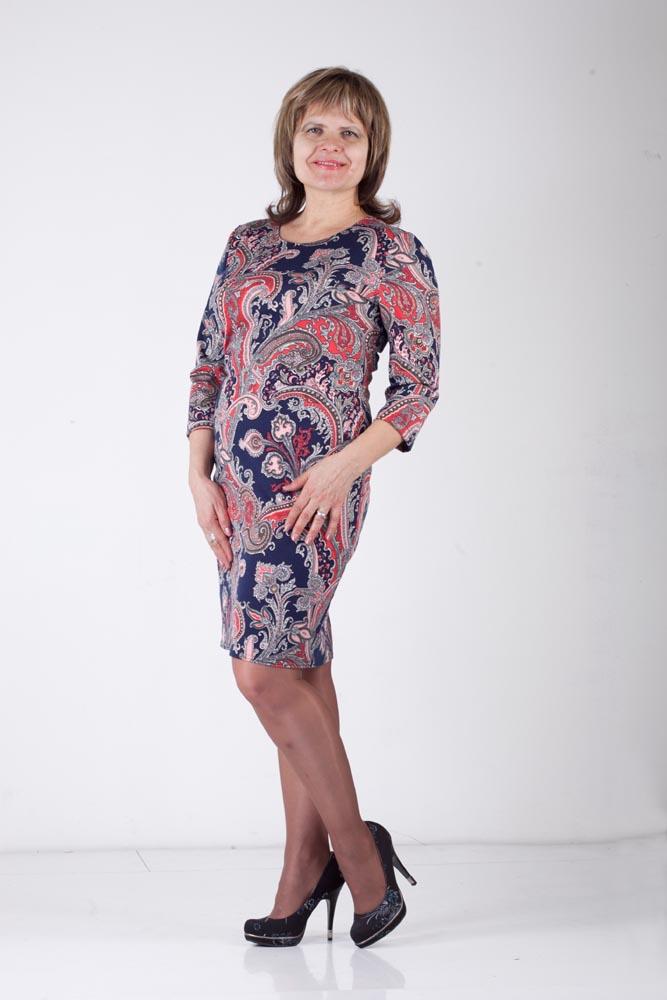 Женские платья большого размера